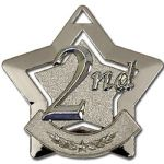 2nd Star Medal 60mm AM712